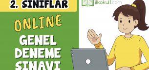 2. Sınıflar 2. Dönem Online Genel Deneme Sınavı -8-