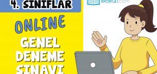 4. Sınıflar 2. Dönem Online Genel Deneme Sınavı -8-