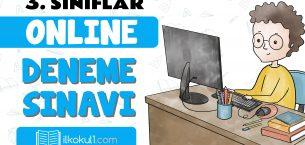 3. Sınıflar 2. Dönem Online Genel Deneme Sınavı -9-