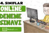 4. Sınıflar 2. Dönem Online Genel Deneme Sınavı -9-