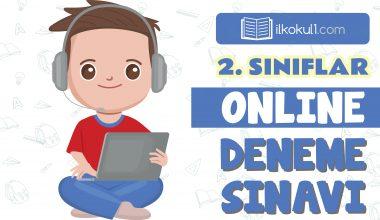 2. Sınıflar 2. Dönem Online Genel Deneme Sınavı -10-
