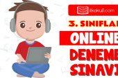 3. Sınıflar 2. Dönem Online Genel Deneme Sınavı -10-