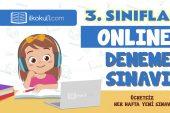 3. Sınıflar 2. Dönem Online Genel Deneme Sınavı -11-