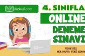 4. Sınıflar 2. Dönem Online Genel Deneme Sınavı -11-
