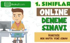 1. Sınıf Online Değerlendirme Sınavı -3-