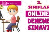 2. Sınıflar 2. Dönem Online Genel Deneme Sınavı -15-