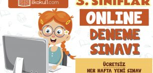 3. Sınıflar 2. Dönem Online Genel Deneme Sınavı -13-