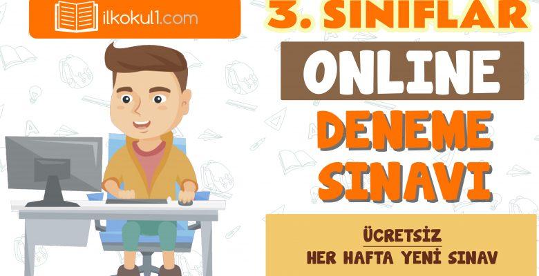 3. Sınıflar 2. Dönem Online Genel Deneme Sınavı -12-