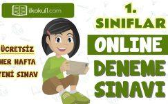 1. Sınıf Online Değerlendirme Sınavı -7-