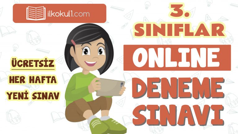 3. Sınıflar 2. Dönem Online Genel Deneme Sınavı -16-