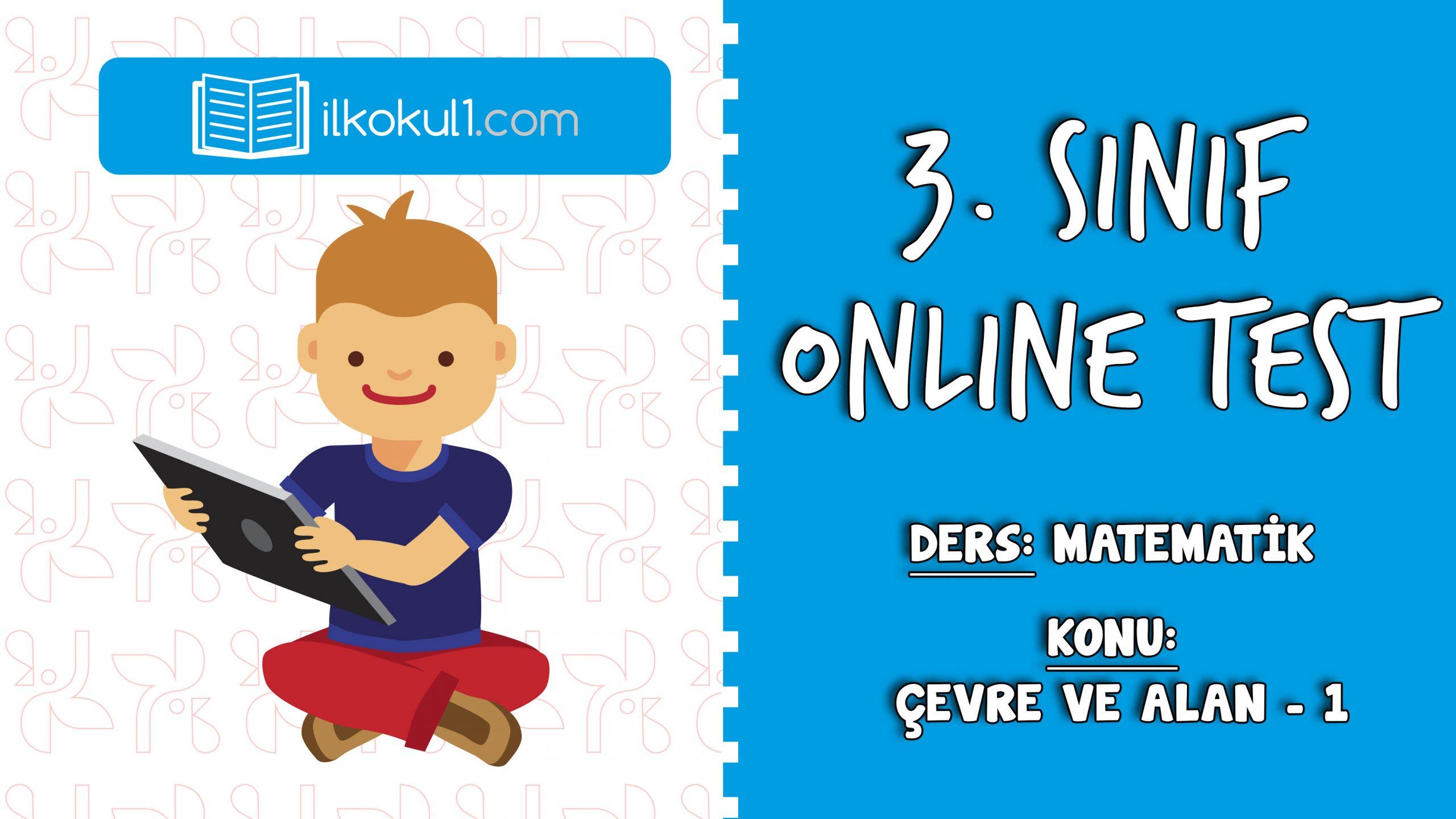 3. SINIF MATEMATIK ÇEVRE VE ALAN – 1- Online Test